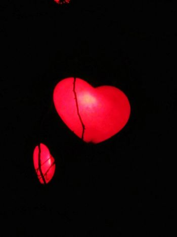 Red Heart Happy Red Heart Shape LoveReflection EyeEm Night No People Black Background Illuminated Close-up Denmark 🇩🇰 My Life Tivoli Garden Tivoli Denmark Tivoli Hjerte Rødt Hjerte Copenhagen, Denmark Heart ❤