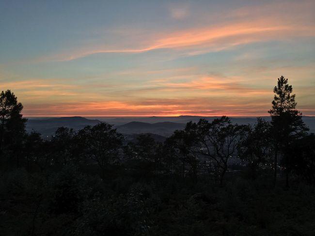 Enjoying Life Iphonephotography Cloud - Sky Braga Sunset Sky Trailrunning Ascis City
