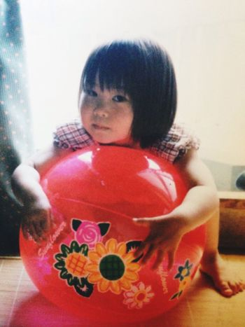 It's me! when I was 3years old .