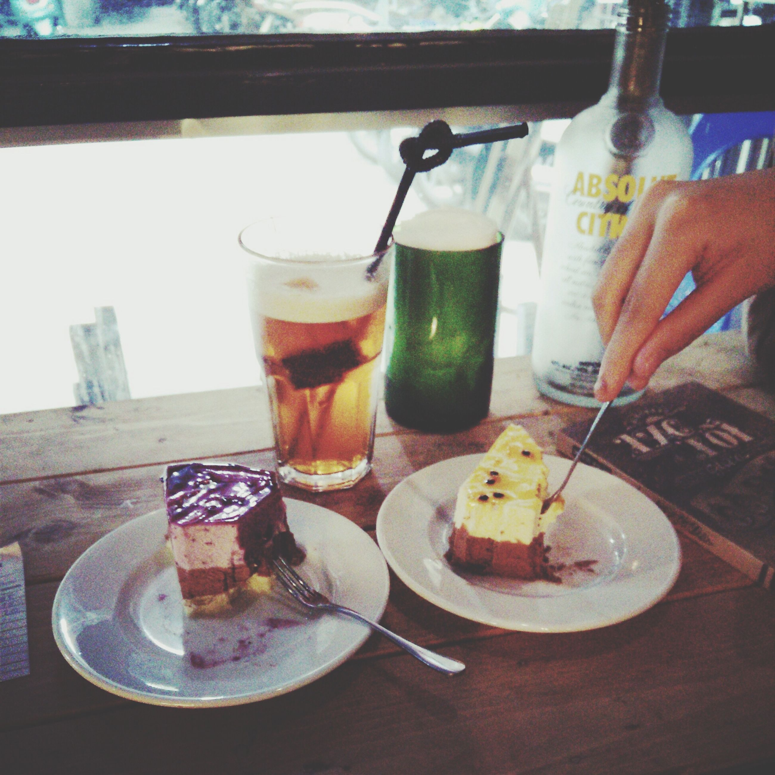 food and drink, freshness, drink, table, food, refreshment, indoors, ready-to-eat, drinking glass, still life, serving size, plate, healthy eating, indulgence, close-up, sweet food, restaurant, dessert, glass - material
