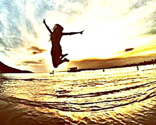 Beach Positive Vibes SejaPossitivo Calmanaalma Vamos viver !! :D
