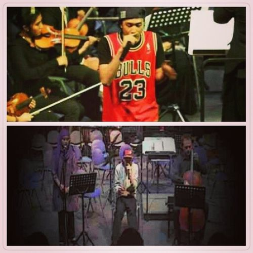 ConfessionOfAHustler ComposersSeries KLPAC Uitm 2013 & 2012 . Same song, different arrangement. Throwback .