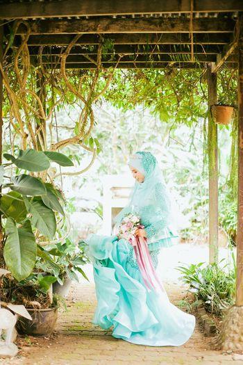 The bride. Full