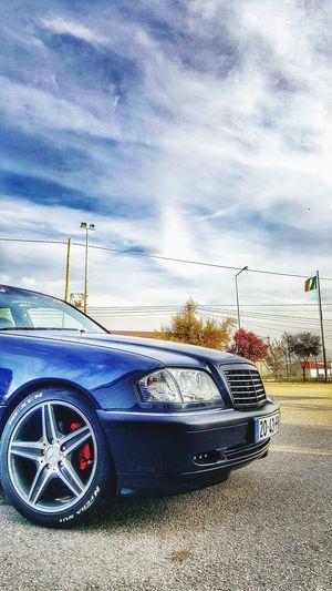 Mercedes Cloud - Sky AMG W202 Clean