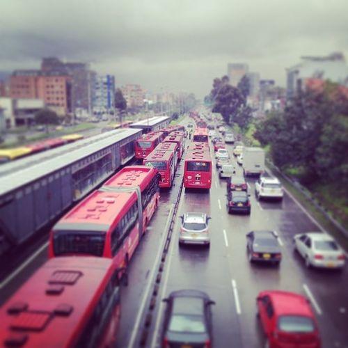 VuelvePetro , vuelve el Caos a Bogotá