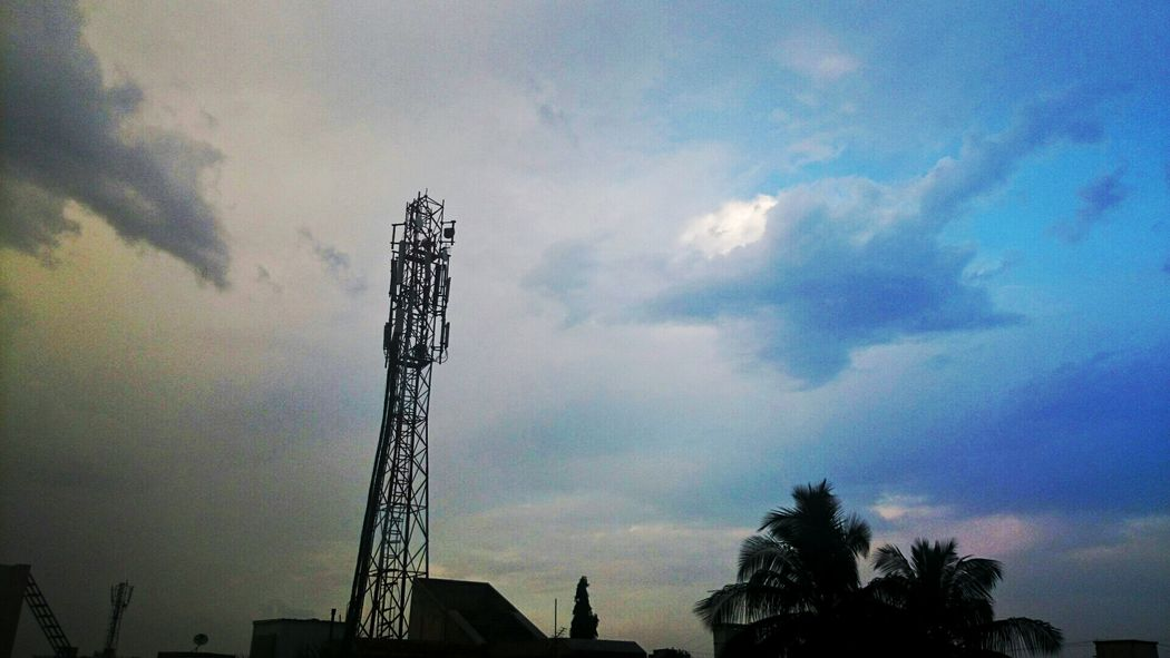 Sky Cloud - Sky Low Angle View Nature Electricity  Sunset Technology Beauty In Nature Naturevscity Naturevsman Naturevshumans Sky Cloud - Sky Tree Low Angle View Nature Electricity  Sunset No People Outdoors Technology Factory Electricity Pylon Beauty In Nature Day