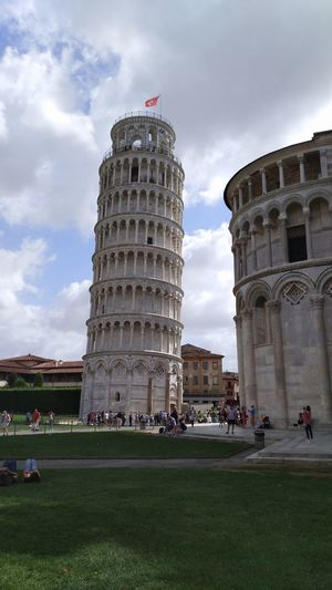 History Architecture Travel Destinations Built Structure Tourism Sky Arts Culture And Entertainment People Cloud - Sky Large Group Of People Grass Day Outdoors City Adult Pisa - Italy Adults Only Pisa, ıtaly Building Exterior Architecture