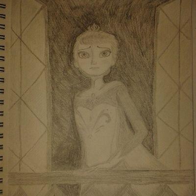 Conceal, don'f feel, don't let them know Frozen Elsa Queen Queenelsa disney drawing draw zeichnung zeichnen eiskönigin königinelsa