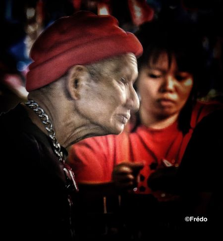 Black & red Chiang Mai | Thailand Thailand_allshots Night Market In Thailand Real People EyeEmBestPics EyeEm Gallery EyeEm Selects Night Photography Night Photo Night Shots  Togetherness Real People Men Two People Focus On Foreground Lifestyles Leisure Activity Red Night People Adult Friendship