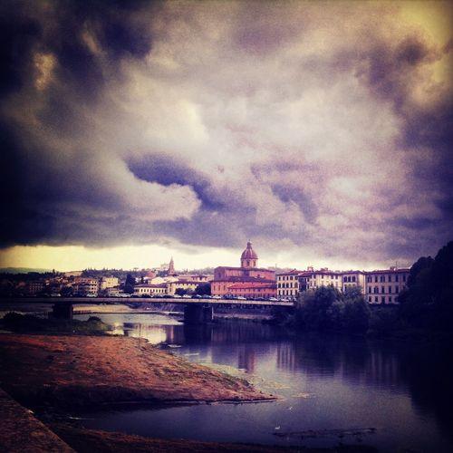 Rain in Florence Panorama