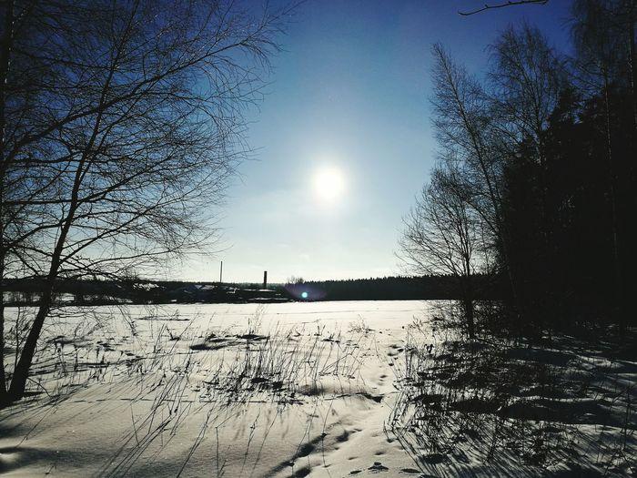HuaweiP9 Zvenigorod -30°C