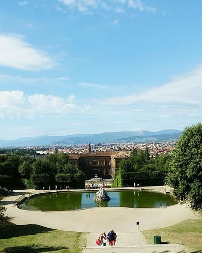 Skyline Tuscany Italia Florence Italy Boboligardens Giardini Di Boboli Firenze