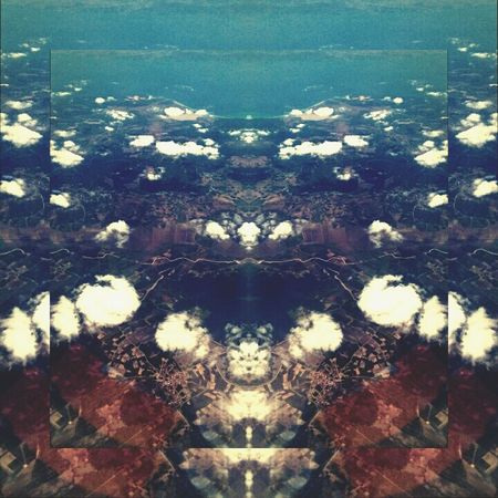 Aerial View Nature Journey Mirrored Rorschach Patterned Future Vision Futuristic AirPlane ✈ AlbumArt Album Cover Albumartwork Album Cover Art A Bird's Eye View