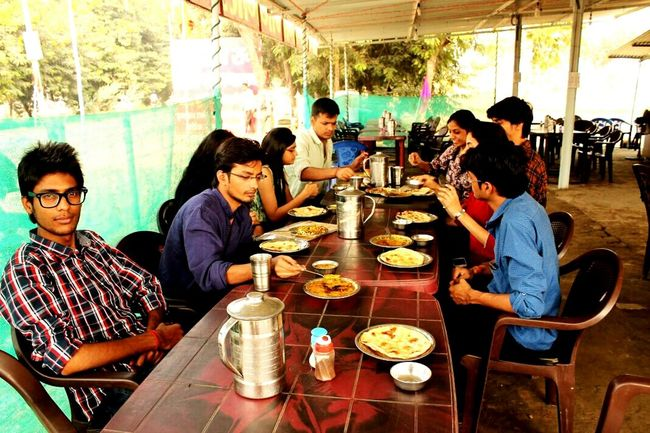Everyday Joy Dhaba Krishna Friends Food Fun