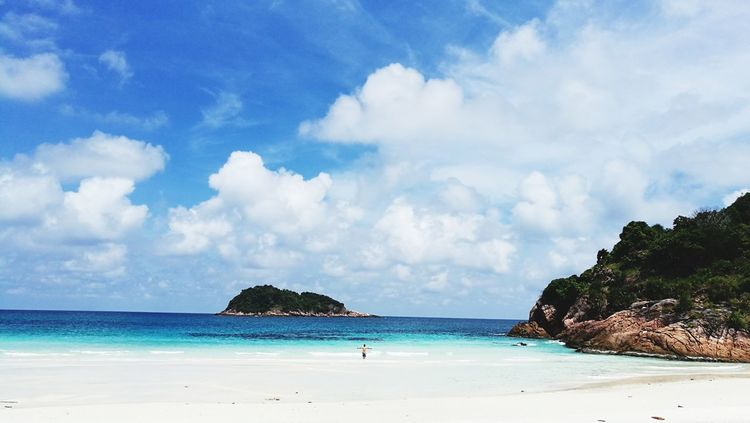 Quiet and peaceful~ Beach Sand Sea Cloud - Sky Vacations Nature Water Tropical Climate Blue Travel Destinations Malaysia Scenery Redang Island Beauty In Nature No People Outdoors BeachscapeLandscape Sun Tourism Travel Summer Tree Tourist Resort Scenics Tranquility Lost In The Landscape