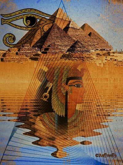 Egypt Fantasy Art by ©Raffreefly Raffreefly Art Artedigitale Artemoderna ARTECONTEMPORANEA EyeEm Gallery eyeemphoto EyeEmdigital Egypt Representing Art And Craft Sky Close-up Architecture Built Structure Building Exterior