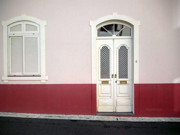 Old house facade Old House House Facade Streetside Funchal Madeira