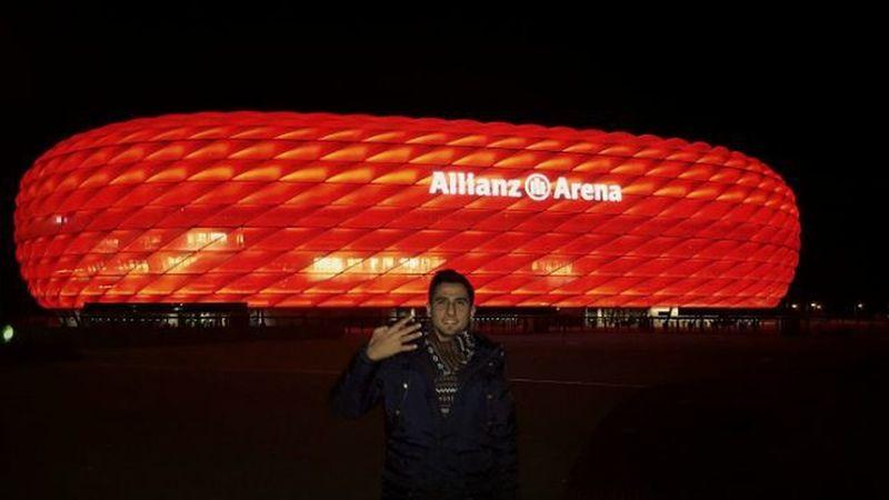 4 Yıldızlı bir diğer Dünya takımının stadına wilkommen 😂 ⚽ 🌟🌟🌟🌟 🏆 Bayern Munich Allianz Arena