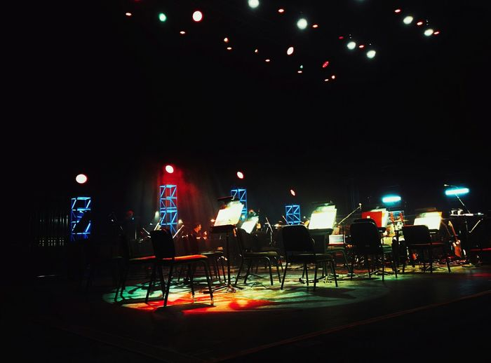 The Houston SymphonyMusic Brings Us Together Cynthia Woods Mitchell Pavilion Night Illuminated Architecture Decoration City Building Exterior Dark Nightlife Multi Colored Modern Outdoors Electric Light City Life Concert Music Colorful Carpe Diem Snuck In Friday Fridaynight