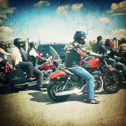Hello World Harleydavidson Tutku Love hayat