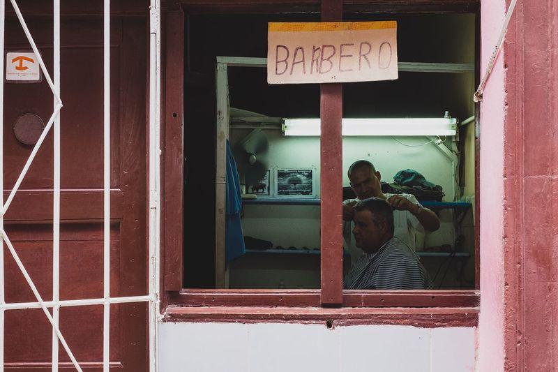 Barbero. Barbershop