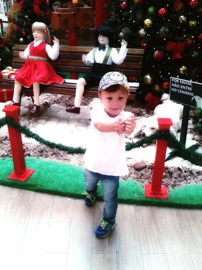 Principe <3 Babyhood ChristmasFull Length Baby Childhood Males  Happiness Outdoors Warm Clothing People One Person Day Headwear