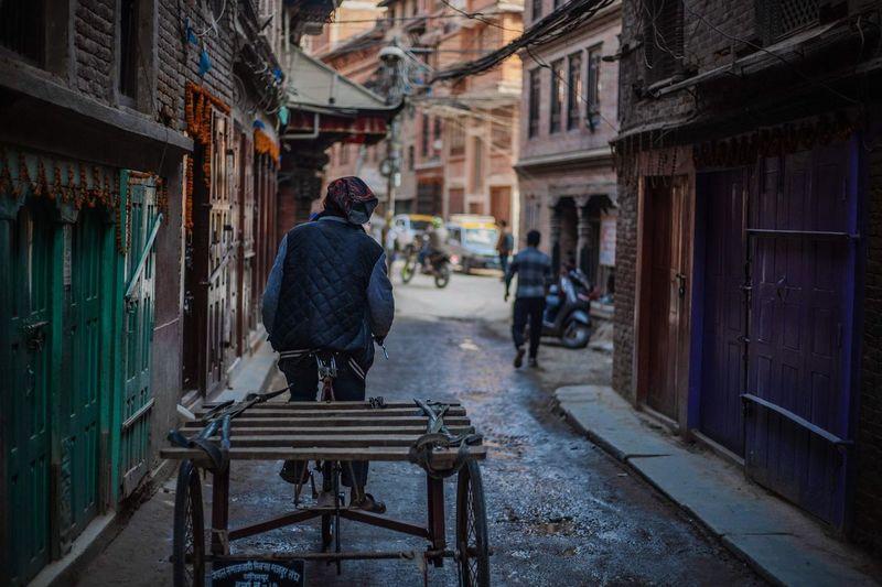 Nepali Alleyway