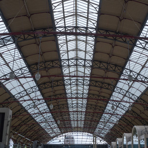 Asymmetrical Symmetry Asymmetrical Asymmetrical Symmetry Victoria Victoria Station London Architectural Feature Architecture Architecture And Art Asymmetry Built Structure Ceiling Day Design Glass - Material Indoors  Low Angle View No People Pattern Station Roof  Symmetry Travel