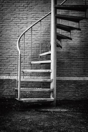 Escape way EyeEm Best Shots Eye4photography  Steps Staircase Steps And Staircases Stairs Railing Hand Rail Spiral Outdoors Architecture No People Firestairs Escape Escapeway EyeEm Gallery Nikonphotography Landscape Landscape_Collection Blackandwhite Art