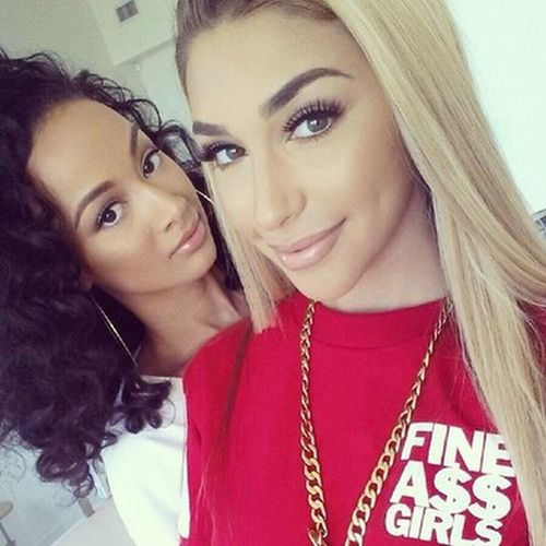 Draya & Chantel Fashion Selfie