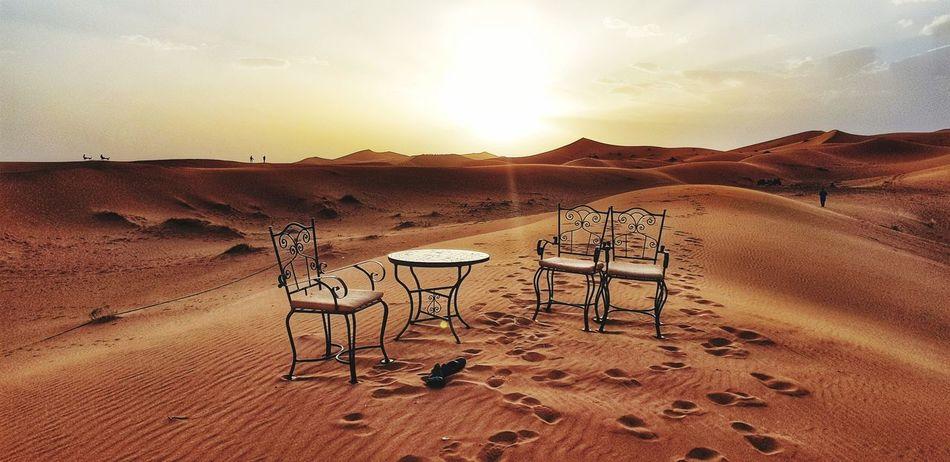 Marocco Landscape Maroccostyle Sand Dune Desert Beach Sand Arid Climate Sunset Summer Sky Landscape