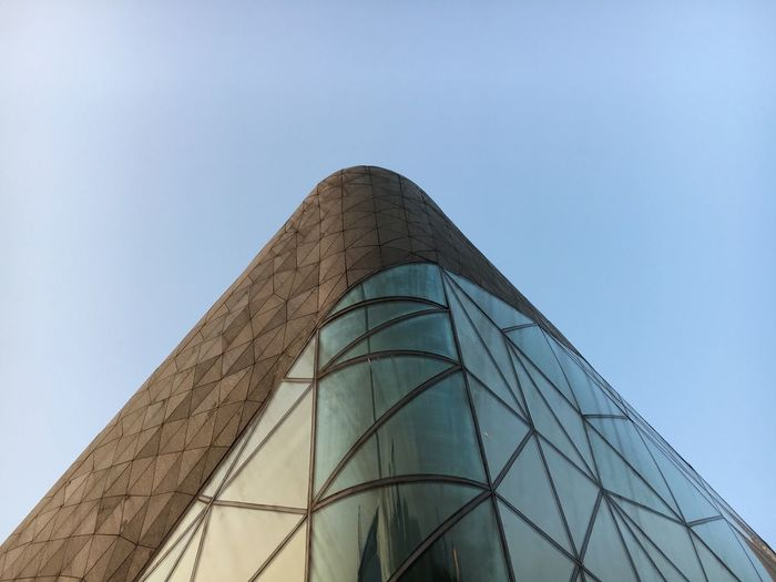 Architecture Low Angle View Built Structure Modern Building Exterior Clear Sky Blue Day No People Outdoors Travel Destinations Sky EyeEmNewHere