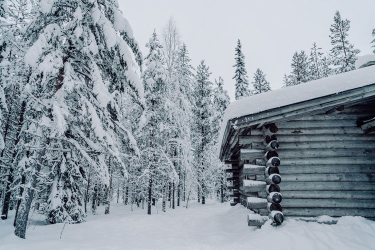 The Great Outdoors - 2018 EyeEm Awards The Traveler - 2018 EyeEm Awards Architecture Beauty In Nature Built Structure Cabin Cold Temperature Covering Finnland Nature Outdoors Plant Snow Snowing Tranquil Scene Tranquility Travel Destinations Tree Winter