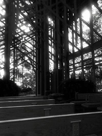 AK. Glass church.