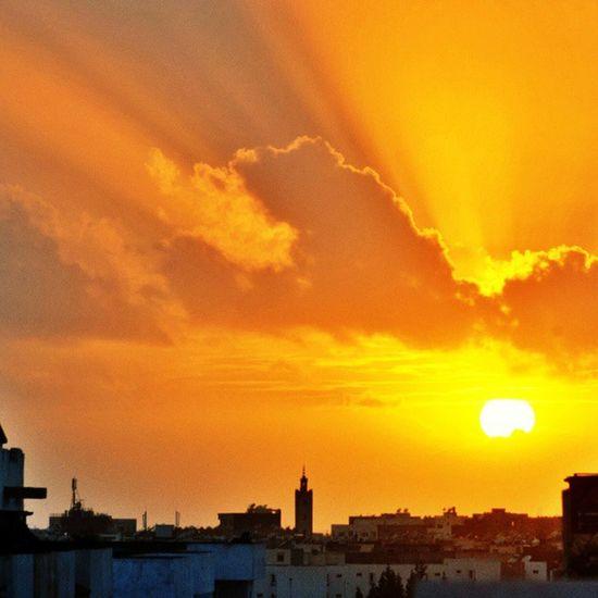 Agadir Maroc Sunset