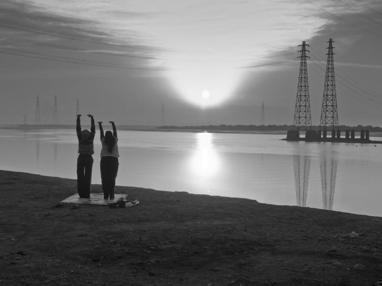 Two Is Better Than One Sunset Sunrise Sunrise_Collection Hanging Out Nature Travel Seaside Nature Photography Taking Photos Seaside_collection India Togetherness Check This Out Outdoor People Black & White Black And White Twins Mumbai India Connected By Travel Lost In The Landscape Rethink Things Be. Ready. Black And White Friday Go Higher Focus On The Story The Still Life Photographer - 2018 EyeEm Awards The Great Outdoors - 2018 EyeEm Awards The Street Photographer - 2018 EyeEm Awards The Traveler - 2018 EyeEm Awards The Creative - 2018 EyeEm Awards 10