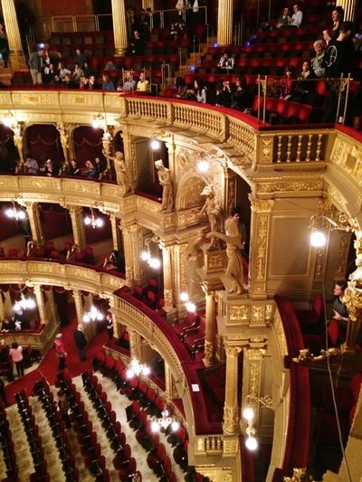 Opéra Being Cultured Enjoying The Music
