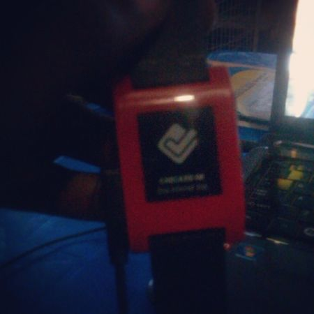 Just Checkedin on my Pebble using the Foursquare app Pebblers Igers