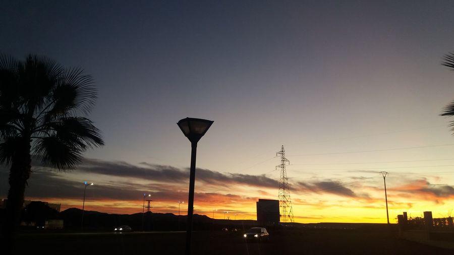 Tree Sunset Golf Club Silhouette Sky Cloud - Sky