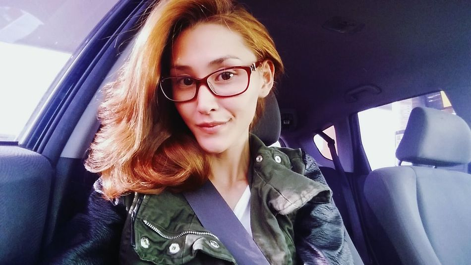 Just a random photo while driving around. It seems like driving is all I do now. So tired 😩 Random People Four Eyes