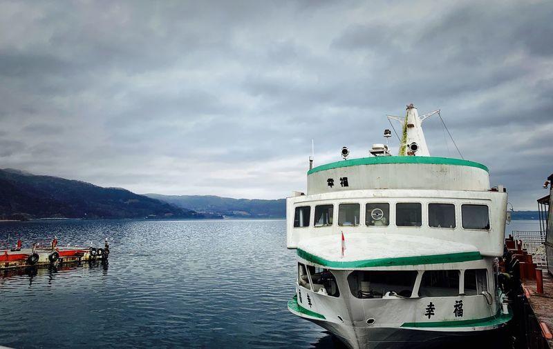 Water Nautical Vessel Mode Of Transportation Transportation Sky Cloud - Sky Nature No People Travel Sea Day Travel Destinations