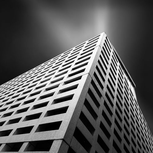 Architecture Building Building Exterior Built Structure Low Angle View Modern No People Office Building Outdoors Repetition Tall - High The Architect - 20I6 EyeEm Awards