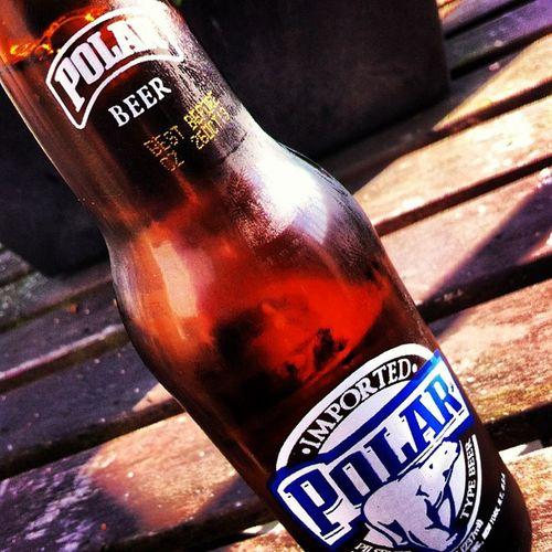 Lekker warm weer verdient een lekker koud biertje, proost! PolarBeer Polarbier Polar