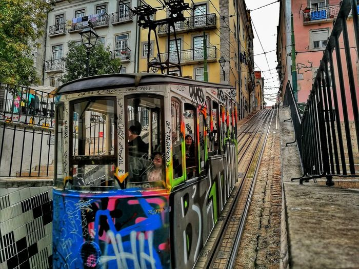 Portugal Outdoors Architecture Vacations Sky Earth Destinationearth Travel Destinations Photography Built Structure Day Tree No People Tram HuaweiP9 Huaweiphotography Huawei P9 Leica Finding New Frontiers