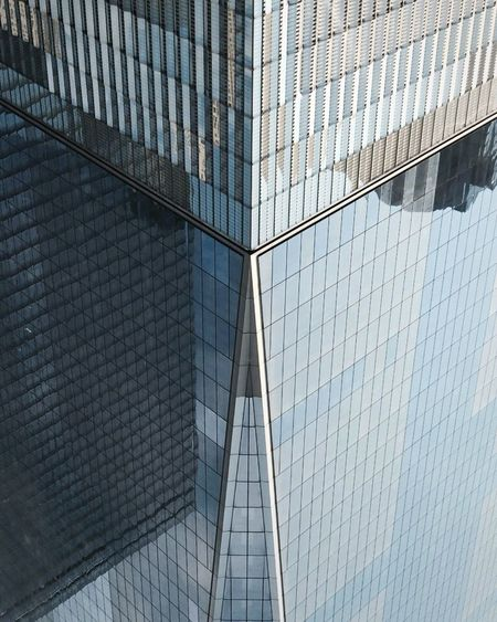 One World Trade Center, NYC. Architecture Architecture_collection Architectural Detail Architecturelovers City Taking Photos Taking Pictures Check This Out OpenEdit EyeEm Best Shots EyeEm Traveling Travel Hello World IPhone Landmark Building Reflection City Life World Trade Center Shootermag Remember 911 International Landmark Modern Architecture