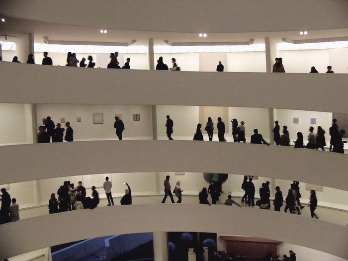 Architecture Men People Solomon R. Guggenheim Museum New York City First Eyeem Photo EyeEm New Here EyeEmNewHere
