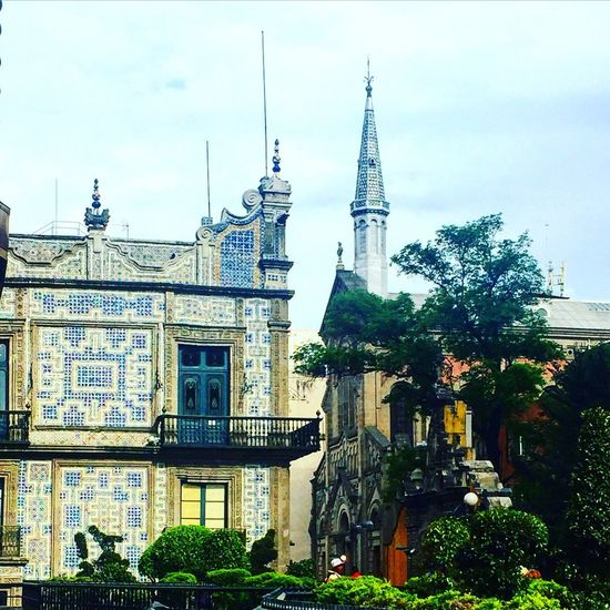Architecture Cdmx Mexico Historiccenter The City of Palaces Sanborns Azulejos