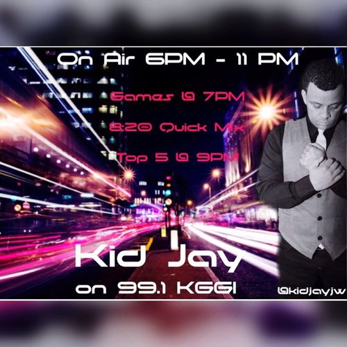 Kid Jay Live on 99.1 KGGI @991kggi @kidjay @kidjay First Eyeem Photo