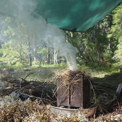 Kuntzi works as a good insect repellent as well.. Bushcooker Kuntzi Bushcraft DDhammocks ddtarp