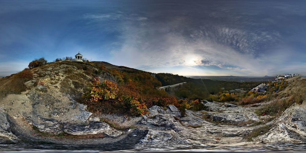 Nature Autumn Colors Photo Sphere